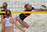 Lietuvės nepateko į  Europos jaunių paplūdimio tinklinio čempionato ketvirtfinalį