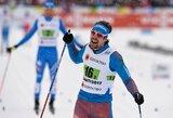 Lietuvos slidininkai pasaulio čempionate užėmė 20-ą vietą, lyderių griūtis padovanojo auksą rusams