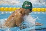 D.Rapšys ir G.Titenis užtikrintai pateko į Europos plaukimo čempionato pusfinalį