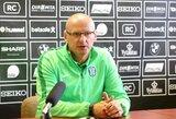 """Vos pusmetį Vilniuje išbuvęs V.Urbonas palieka """"Žalgirį"""""""