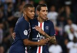 """Be Neymaro sezoną Prancūzijoje pradėję PSG iškovojo lengvą pergalę prieš """"Nimes"""""""