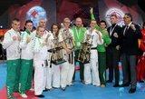 Jaunieji pasaulio kiokušin karatė čempionato prizininkai svajoja drąsiai