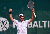 L.Grigelis – teniso turnyro Rumunijoje finale