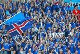 Futbolas nuo pareigų neatleidžia: rungtynių su Argentina metu Islandijos policija turėjo gelbėti susižeidusią antį