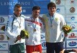 Dramatiškame finale kanojininkas V.Korobovas tapo pasaulio jaunimo vicečempionu