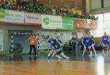 Intriguojančias moterų rankinio rungtynes Vilniuje laimėjo garliaviškės
