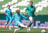 """Vėlyvas įvartis padovanojo """"Wolfsburg"""" pergalę prieš """"Werder"""""""