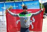 Kanojininkas V.Korobovas – Europos jaunimo čempionas, baidarininkas A.Seja – vicečempionas!