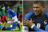 Geros žinios PSG: K.Mbappe ir Neymaras sugrįžo į treniruotes
