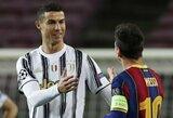 Ch.Nurmagomedovas palygino L.Messi ir C.Ronaldo: išskyrė pagrindinį skirtumą