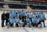 """D.Zubrus prieš rungtynes su A.Lukašenkos komanda: """"Neturėjome jokių treniruočių"""""""