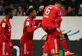 """""""Bayern"""" užtikrintai susitvarkė su """"Hoffenheim"""""""