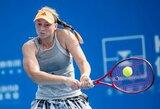 Rusiją į Kazachstaną iškeitusi E.Rybakina laimėjo WTA turnyrą Hobarte