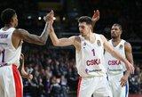 N.De Colo vedamas CSKA klubas tapo trečiuoju Eurolygos finalo ketverto dalyviu