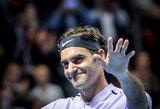R.Federeris greičiau nei per valandą sutriuškino prancūzą ir žengė į ketvirtfinalį