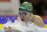 R.Meilutytė Berlyne užtikrintai pateko į 50 m krūtine rungties finalą