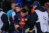 L.Messi aikštę paliko ant neštuvų
