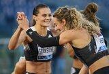 A.Šerkšnienė Šveicarijoje pagerino Lietuvos rekordą