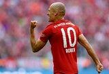 """Prieš akistatą su """"Schalke"""" – T.Mullerio juokai: """"Galbūt mums reikėtų susigrąžinti iš pensijos A.Robbeną"""""""