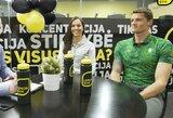 """""""Podcastas"""" su M.Valčiukaite ir S.Ritter: kiek medalių pora turi namuose?"""