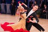 Šokėjai D.Vėželis ir L.Chatkevičiūtė tarptautinėse varžybose Rusijoje laimėjo sidabro medalius