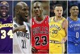 Top 25: didžiausios visų laikų NBA žaidėjų algos, įvertinus infliaciją