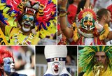 Pamatykite: spalvingiausi ir įdomiausi pasaulio čempionato sirgalių veidai