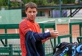 """R.Berankis """"Roland Garros"""" turnyre dalyvaus ir dvejetų varžybose, startas vienetuose – antradienį"""