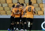 """""""Olympiacos"""" iš tolimesnių kovų eliminavę """"Wolves"""" žais Europos lygos ketvirtfinalyje"""