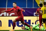 UEFA Tautų lyga: C.Ronaldo dublis paženklintas Portugalijos pergale, Anglija nesugebėjo įveikti danų
