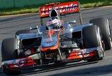 J.Buttonas iškovojo pergalę Australijos GP lenktynėse