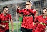 """Vokietijoje – taškus prarado išvykoje suklupusi """"Borussia"""" komanda"""