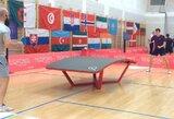Lietuvos stalo tenisininkai triumfavo pasaulio tekpongo čempionate