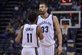 """""""Grizzlies"""" pasirengusi iškeisti M.Gasolį ir M.Conley"""