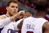"""Tris dvigubus dublius surinkę """"Clippers"""" krepšininkai namuose palaužė Minesotos ekipą (+ kiti rezultatai)"""