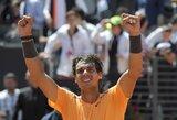 ATP vienetų reitinge R.Nadalis susigrąžino antrąją vietą
