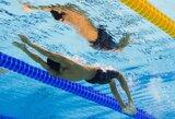 Olimpinėse plaukimo varžybose – amerikiečių dominavimas ir dar vienas planetos rekordas