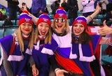 Olimpiniame moterų ledo ritulio turnyre paaiškėjo pusfinalio poros
