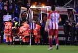 F.Torresas po susidūrimo neteko sąmonės ir buvo išgabentas į ligoninę