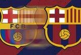 """Dėl itin neigiamos sirgalių reakcijos """"Barcelona"""" nusprendė nekeisti savo logotipo dizaino"""