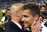 """C.Ronaldo: """"Laimėti titulą paskutinę dieną yra daug maloniau"""""""