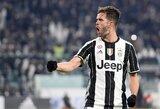 """Antrąkart laimėję """"Juventus"""" tapo pirmaisiais Italijos taurės finalo dalyviais"""