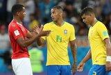 """Brazilų """"skylė"""" dešiniajame gynybos krašte didėja – traumą patyrė Danilo"""