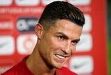 PSG klubas niekada nepateikė oficialaus pasiūlymo už C.Ronaldo