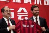 Oficialu: A.Villas-Boasas karjerą tęs Kinijoje