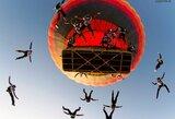 Su parašiutu iš baliono iššokusi lietuvė pateko į Guinnesso rekordų knygą (komentaras)