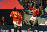 """Anglus nugalėjusi Ispanijos rinktinė nutraukė net 67-erius metus trukusį prakeiksmą """"Wembley"""" stadione"""