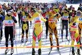Po ilgos pertraukos Ignalinoje vėl vyko slidinėjimo maratonas