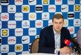 """D.Adomaitis: """"Treneriui tokios rungtynės yra smagiausios"""""""