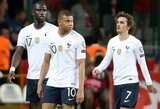 Skaudų antausį gavę pasaulio čempionai prancūzai užfiksavo 10 metų neregėtą rezultatą